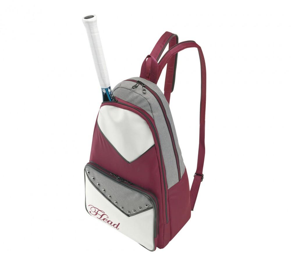 Tennis Tas Dames : Head sling bag dames tennistas wit weinrot