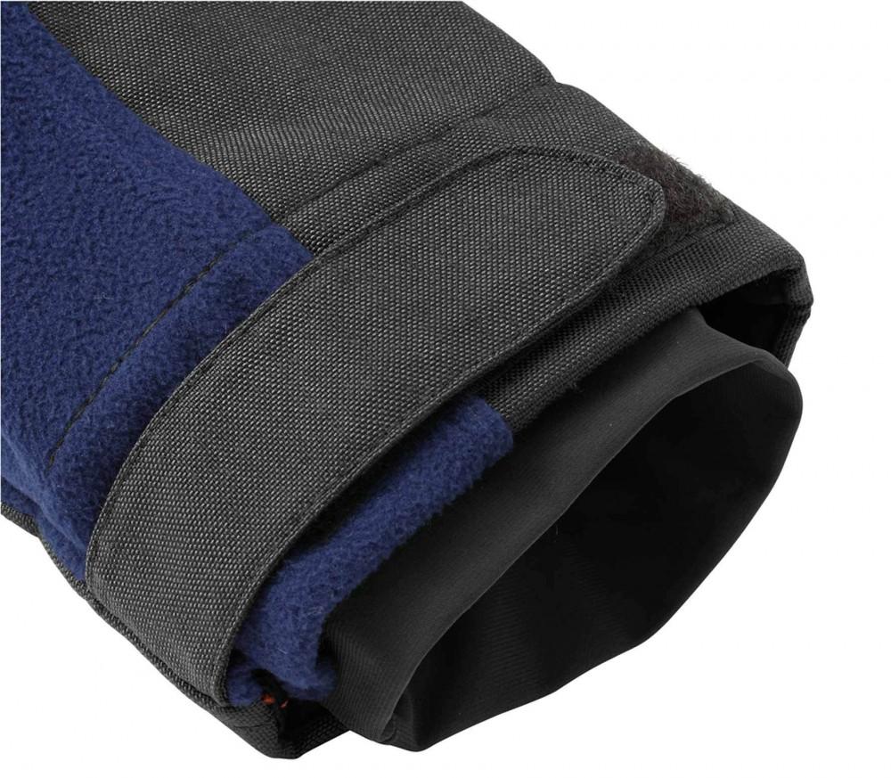 jack wolfskin blizzard heren fleecejack blauw grijs. Black Bedroom Furniture Sets. Home Design Ideas