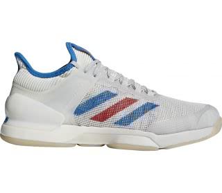 Adidas - Adizero Ubersonic 50YRS LTD Heren Tennis schoen (wit/blauw)