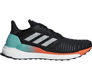 Adidas - Solar boost Heren ren schoen (zwart/oranje)